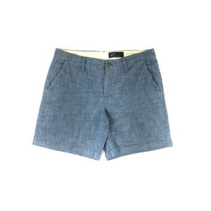 Women's Gap Chambray Shorts Blue Size 6